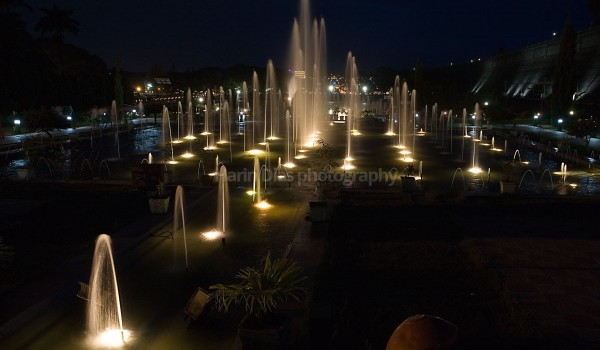 Brindavan gardens at night