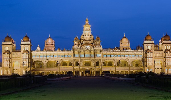 Mysore palce at night