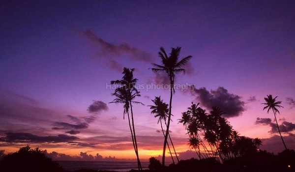 Sunset at Galle